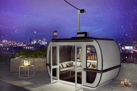 Una Terraza De Hotel En Londres Con Aires De Estación De