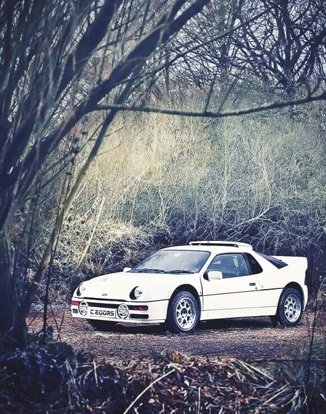 Ford Rs 200 Street Legal White Car Car In The World British Cars