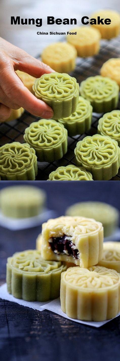 Chinese summer dessert--Mung Bean Cake