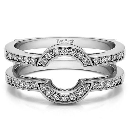 Brilliant Moissanite Mounted In Sterling Silver Round Shaped