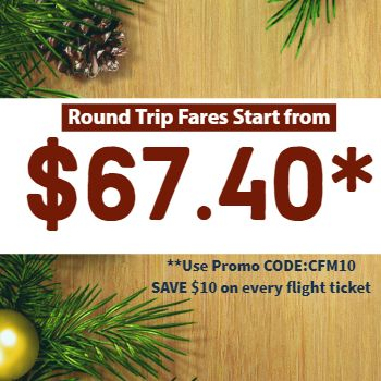 Christmas Flights Deals Cheap Flight Tickets Flight Ticket Online Flight Booking