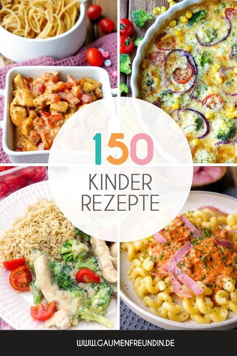 Kochen für Kinder ist nicht immer einfach. Ich hab hier über 150 schnelle Rezepte für dich, die den lieben Kleinen ganz bestimmt schmecken! Vom Kinderliebling wie Nudeln mit cremiger Tomatensauce oder meine gesunde Gemüsequiche - hier gibts Kinderrezepte für die ganze Familie - Gaumenfreundin Foodblog #kochenfürkinder #kinderrezepte #familienrezepte #kochenfürdiefamilie #rezepte #kinder #foodblog #kinderessen #schnellerezepte