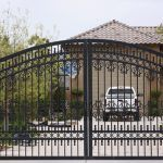 Our Work Gallery Jaguar Wrought Iron Gate Design And