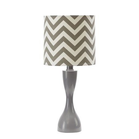 Pin By Russ Flanagen On For Apartment In 2020 Table Lamp Chevron Table Transitional Table Lamps