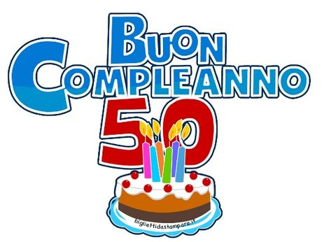 Invito Compleanno 50 Anni Invitoelegante Com Buon Compleanno