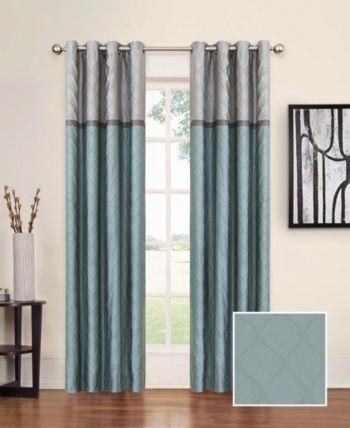 Eclipse Arno Thermalayer Blackout 52 X 84 Curtain Panel