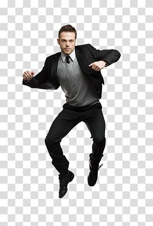 Man Jumps Wearing Black Jacket Rm Dance Jump Up Man Transparent Background Png Clipart Black Jacket Wearing Black Mens Black Suit Jacket