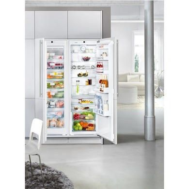 Liebherr Sbs70i2 Integrated Nofrost American Side By Side Fridge Freezer With Biofresh Appliances Direct In 2020 Integrated Fridge Fridge Freezers Appliances Direct