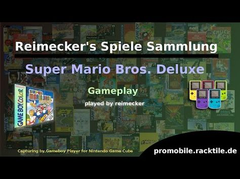 Reimecker S Spiele Sammlung Super Mario Bros Deluxe Mit
