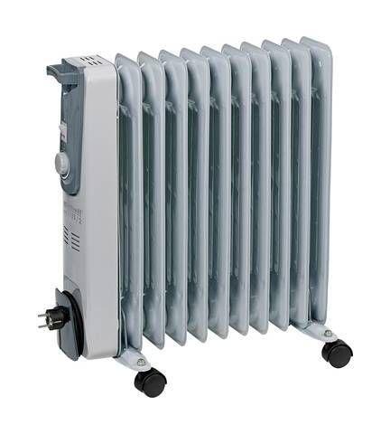 Radiateur A Bain Dhuile Einhell 2338322 2500 W Gris Oil Filled Radiator Radiators Electric Radiators