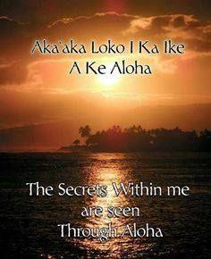 Aloha... Always....