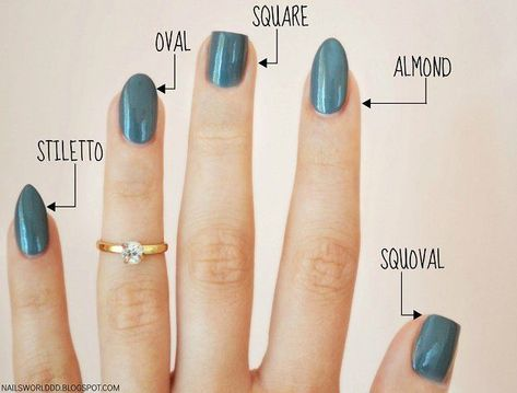 The Ultimate Guide To Finding Perfect Nail Shape For Your Hands