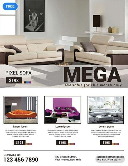 Sofa Mega Sale Template Illustrator Word Apple Pages Psd Publisher Template Net Microsoft Publisher Sofa Sale Sofa