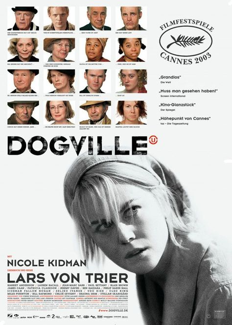 analysis dogville Director: lars von trier (as lars von trier) writer: lars von trier stars: nicole kidman, paul bettany, lauren bacall watch online full movie: dogville (2003) for free a woman on the run from the mob is.