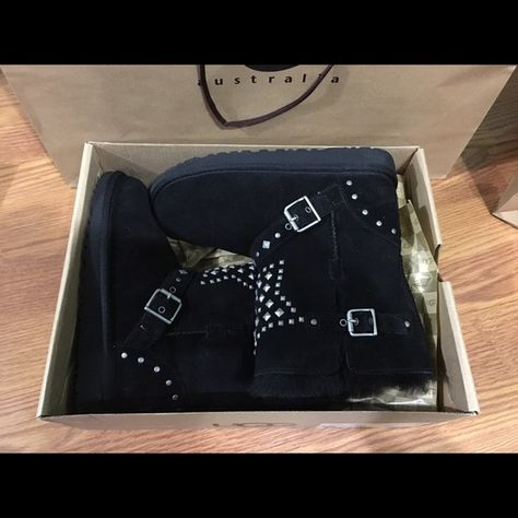 NIB Kid Studded UGG Boots New in box kid studded UGG Boots !!!100% Authentic UGG Shoes Winter & Rain Boots