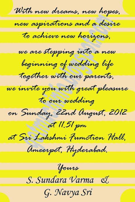 Indian Hindu Marriage Invitation Card Invitationcard In