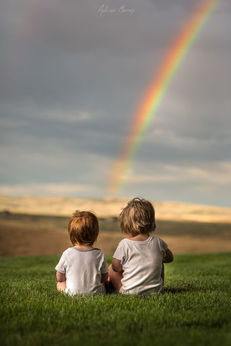 A Pot of Gold by Adrian C. Murray on YOU found the pot of gold at… Precious Children, Beautiful Children, My Children, Cute Kids, Cute Babies, Foto Blog, Pot Of Gold, Over The Rainbow, Rainbow Baby