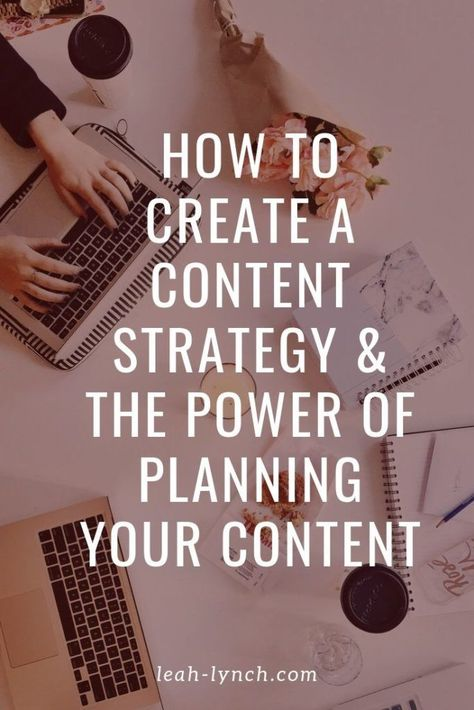 Online business content creation ideas. Learn how to build a strategy around your content and how it