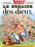 """Bande dessinée """"Astérix, tome 17 : Le Domaine des dieux"""" de René Goscinny et Albert Uderzo"""