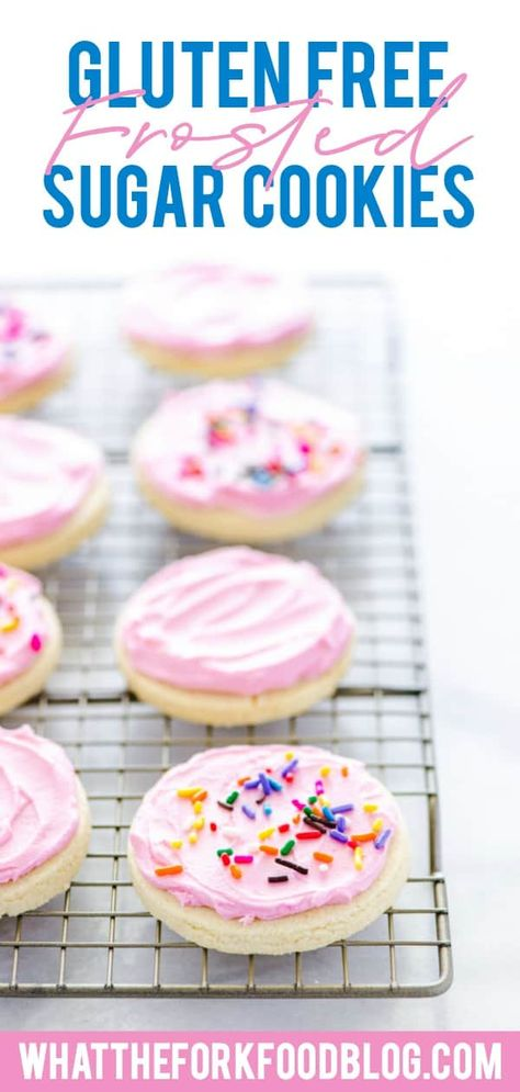 Gluten Free Frosted Sugar Cookies Recipe Dairy Free Cookies