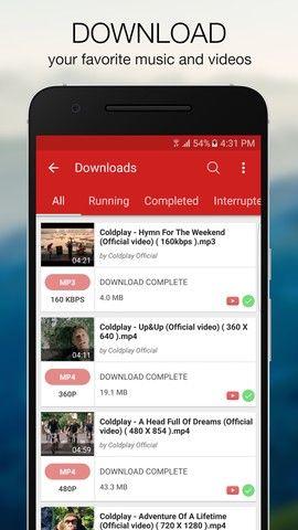 Videoder - YouTube downloader and mp3 converter screenshot 3