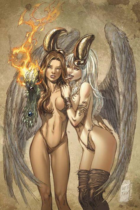 golf-tits-the-darkness-angelus-hentai-nude