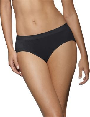 ef0b4d2bd1fd Barely There by Bali Comfort Revolution Microfiber Seamless Hipster Panty