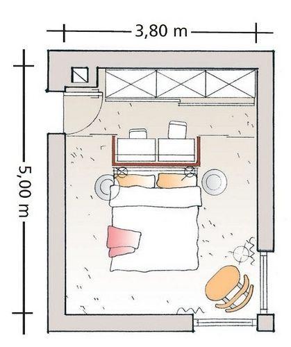 Progettare una cabina armadio divisa da muri in cartongesso ...
