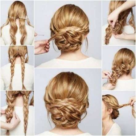 16 Trendy Hairstyles Tutorial Ball Thick Hair Styles Hair Styles Simple Prom Hair
