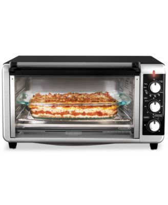 Black Decker To3250xsb 8 Slice Extra Wide Convection Toaster