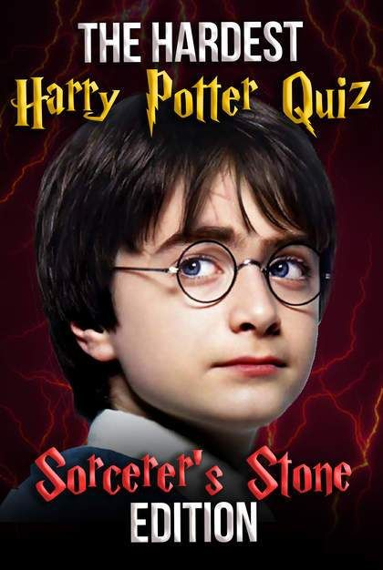 The Hardest Harry Potter Quiz Sorcerer S Stone Edition In 2019