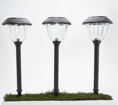 Energizer 10 Piece Solar Landscape Light Set Qvc Com Solar Landscape Landscape Lighting Solar Landscape Lighting