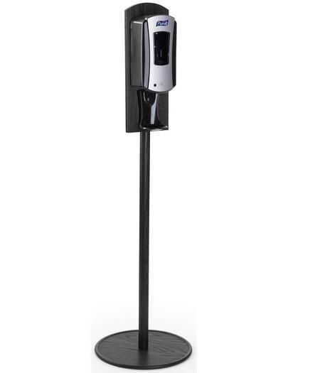 Purell Hand Sanitizer Dispenser Floor Standing Black 119093