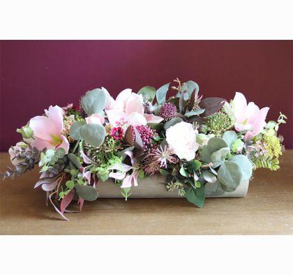 Adelita Mantella Efektowna Kompozycja Kwiatowa Na Parapet Wym 22x55x24cm Flower Arrangements Floral Flowers
