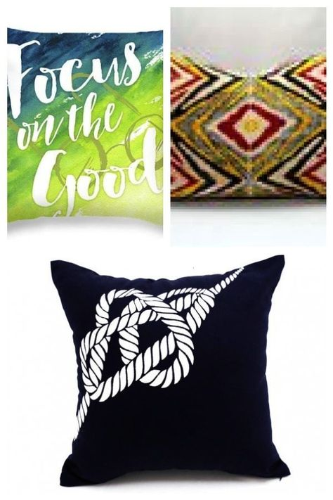 N' Bright Letter Throw Pillow | The