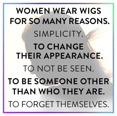 #watchwigs www.youtube.com/wigs