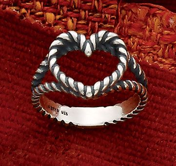 Fall Collection Twisted Wire Heart Ring Jamesavery Tiffany Co Heart Ring James Avery