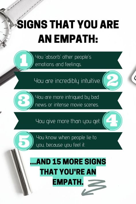 20 signs that indicate that you're an empath