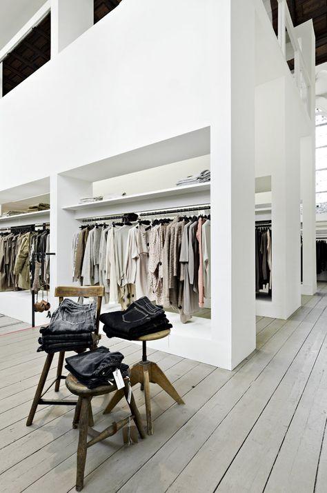 Retail Design | Shop Design | Fashion Store Interior Fashion Shops | HUMANOID shop Arnhem #shop #design