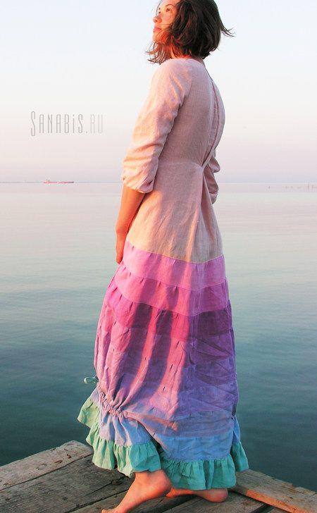 0f32755909a093a Свадебное платье из льна
