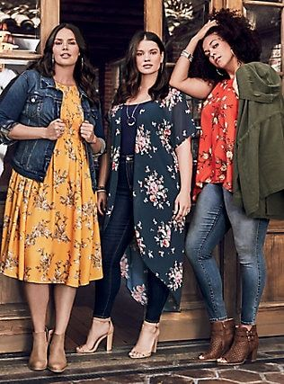 Plus Size LOOK 3, in 2019 | Plus size looks, Plus size fall ...