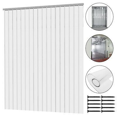 Strip Curtain Door Kit 168x108 168 In 14 Ft Width X 108 In