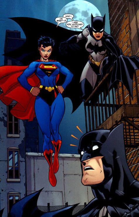 Superhero Gender Reversal