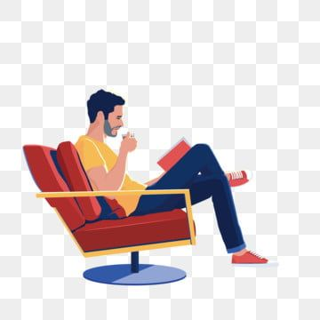Man Sitting On The Couch Drinking Tea Reading A Book Reading Clipart Sofa Sitting Png Transparent Image And Clipart For Free Download Drinking Tea Tea Reading Drinking Book