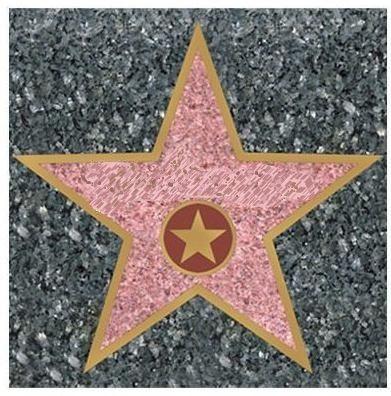 17 Best Photos Of Hollywood Star Template Printable Star Dressing Room Sign Blank Hollywood Star Template And Hollywoo Hollywood Decorazioni Carnevale Festa