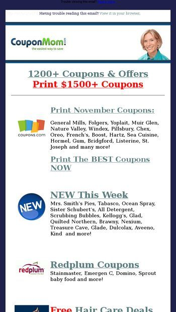 Preview Lists Ready From Couponmom Com Print Coupons Mom Coupons Thanksgiving Grocery