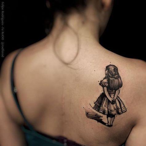 """La Moglie Tatuata su Instagram: """"#aliceinwonderland #wereallmadhere #followthewhiterabbit #tattoo #tattooed #ink #inked #inkart #tattooart #tattoolife #tattoolove #tattoopassion #tattooinspiration #tattocommunity #lamoglietatuata #thetattooedwife"""""""