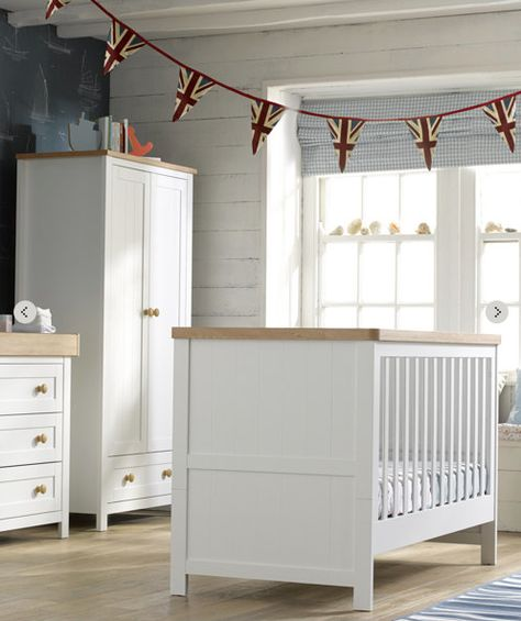White And Natural Wood Nursery Set Mothercare Co Uk Baby