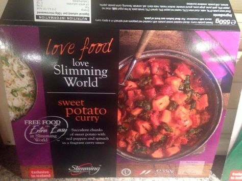New Slimming World Syn Free Sweet Potato Curry Only