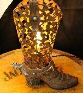 Cowboy Boot Lamp Ideas On Foter Vintage Cowboy Boots Cowboy Lamp Lamp